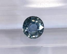1.2ct unheated blue sapphire
