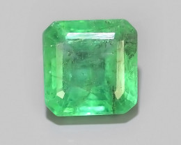 0.90 CTS~EXCELLENT~NATURAL EMERALD ~OCTAGON~NICE QUALITY GOOD COLOR~