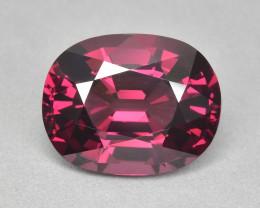 9.24 Cts Fabulous Amazing Color  Natural Rhodolite Garnet