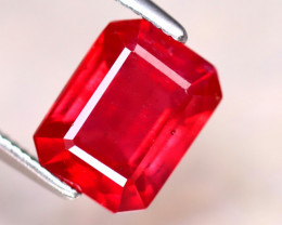 Ruby 2.66Ct Madagascar Blood Red Ruby DF0916/A20