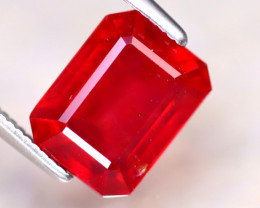 Ruby 3.66Ct Madagascar Blood Red Ruby DF0918/A20