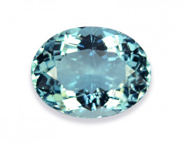 9.07 Cts Wonderful Lustrous Natural Aquamarine