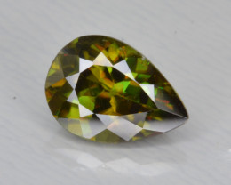 Natural Color Changing Chrome Sphene 1.41 Cts from Skardu, Pakistan