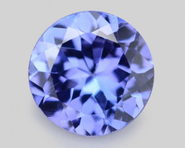 0.57 Cts Amazing Rare Violet Blue Color Natural Tanzanite Gemstone