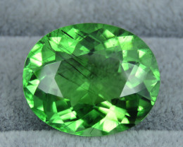 HUGE 36.40 Cts Awesome Color Apple Green Natural Rutile Peridot From Pakist