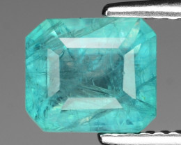 2.00 Cts Very Rare Bluish Green Natural Grandidierite Loose Gemstone