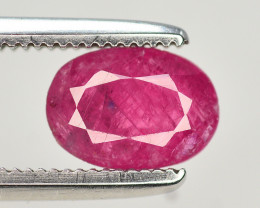 Brilliant Color 1.05 Ct Natural Ruby From Afghanistan