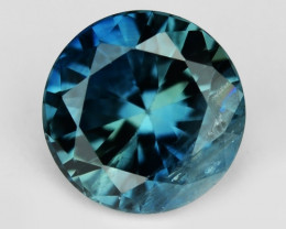 0.60 Cts Amazing Rare Natural Fancy Blue Sapphire Loose Gemstone