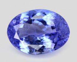 1.09  Cts Amazing rare Violet Blue Color Natural Tanzanite Gemstone