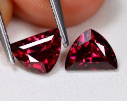 Mahenge Garnet 1.56Ct VVS Trillion Cut Natural Mahenge Garnet AB4186