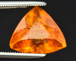 Rarest 6.65 Ct Natural Clinohumite From Siberia