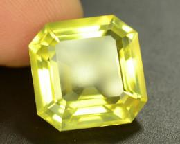 Top Color 14.55 ct Fancy Cut Lemon Citrine