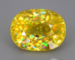 Rare AAA Fire 2.75 ct Sphene Sku-58