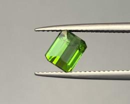 Natural Green Tourmaline 1.35 Cts Good Quality Gemstone