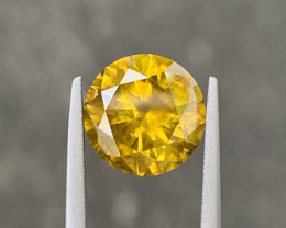 2.65 CT yellow Diamond Gemstones
