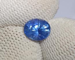 CERTIFIED 1.61 CTS NATURAL BEAUTIFUL CORNFLOWER BLUE SAPPHIRE CEYLON SRI LA