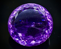26.87 Crt Natural  Amethyst Faceted Gemstone.( AB 37)