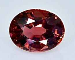 2.36 Crt Natural Garnet Faceted Gemstone.( AB 37)