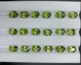 23.98 ct Peridot Gemstones parcel