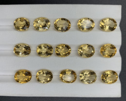 36.08 CT Citrine Gemstones parcel