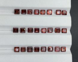 10.07 ct Rhodolite Garnet Gemstone parcel