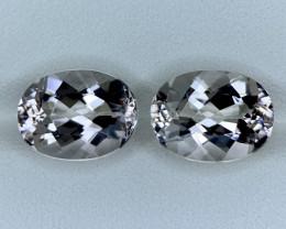 7.70 Carats Natural  Morganite Gemstone