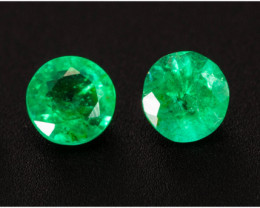 Emerald  0.45 ct Zambia GPC