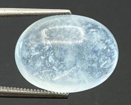 9.07Ct Aquamarine Excellent Color Beautiful Quality Cabochon.AQC 09