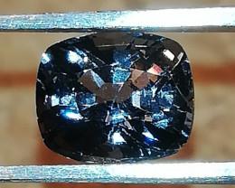 Spinel, 1.13ct, grey-blueish-purplish gem, good for jewelry !
