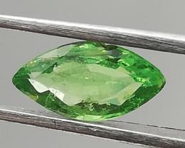 Tsavorite, 0.53ct, rare gemstone in a fascinating colour!!
