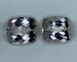 8.90 Carats Natural  Morganite Gemstone