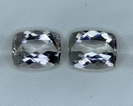 7.65 Carats Natural  Morganite Gemstone