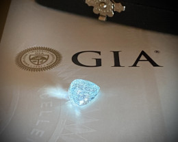 GIA Certified 5.68ct  Brazil Glowing Paraiba Tourmaline