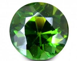 Cylon Tourmaline 0.52 Cts Chrome Green Portuguese Cut BGC571