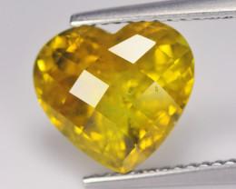 Cylon Chrysoberyl 4.39 Cts Olive Yellow Portuguese Cut BGC550