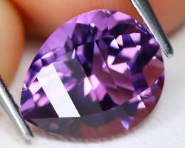 Amethyst 3.35Ct VVS Designer Cut Natural Purple Amethyst AB4162