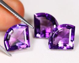 Amethyst 7.51Ct VVS Fancy Cut Natural Bolivian Purple Amethyst BT0271