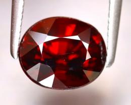 Almandine 2.65Ct Natural Vivid Blood Red Almandine Garnet EF1025/B3