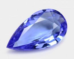 0.57 Cts Amazing rare AA Violet Blue Color Natural Tanzanite Gemstone