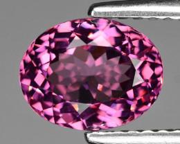 2.10 Cts Unheated Natural Cherry Pink Rhodolite Garnet Gemstone