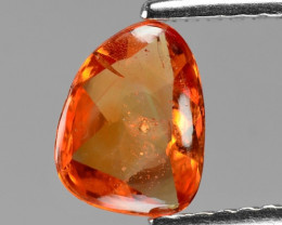 0.96 Cts Amazing Rare Natural Fancy Orange Sapphire Loose Gemstone