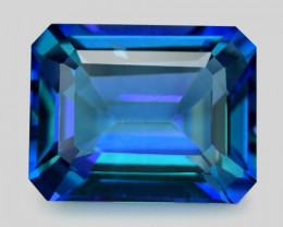 3.64 Carat Fancy Blue Natural Azotic Topaz Gemstone