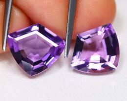 Amethyst 4.19Ct VVS Shield Cut Natural Bolivian Purple Amethyst AB4164