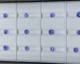 3.97 ct Tanzanite Gemstones parcel