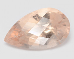 4.35 Cts Amazing Rare Natural Pink Color Morganite Gemstone