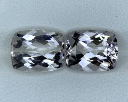 5.85 Carats Natural  Morganite Gemstone