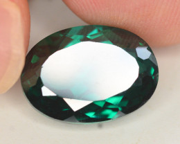 8.30 Cts Emerald Green Surface Treated Topaz