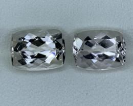 4.50 Carats Natural  Morganite Gemstone