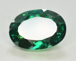 8.20 Cts Emerald Green Surface Treated Topaz