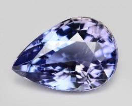 0.72 Cts Amazing rare A+ Violet Blue Color Natural Tanzanite Gemstone
